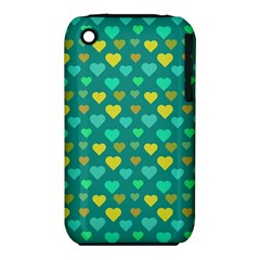 Hearts Seamless Pattern Background Iphone 3s/3gs by Nexatart