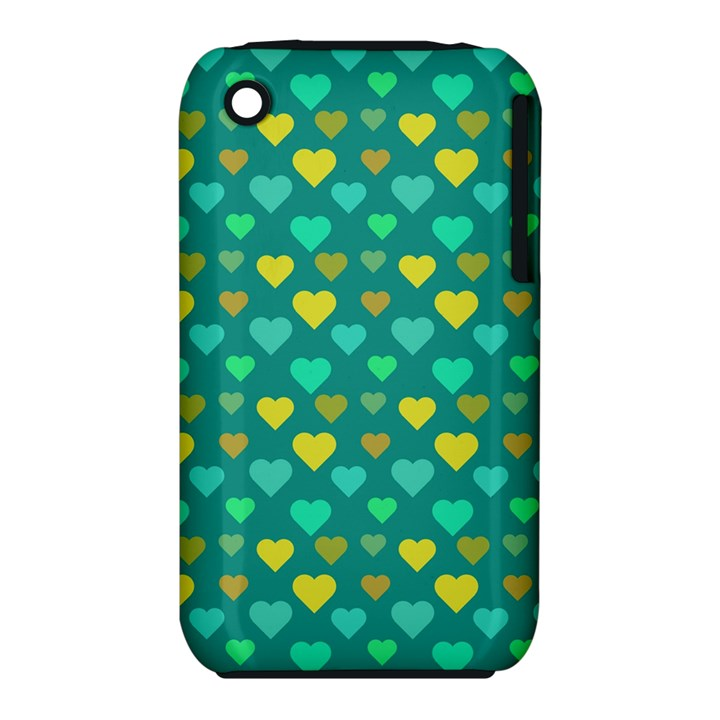 Hearts Seamless Pattern Background iPhone 3S/3GS