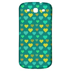 Hearts Seamless Pattern Background Samsung Galaxy S3 S Iii Classic Hardshell Back Case by Nexatart