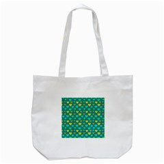 Hearts Seamless Pattern Background Tote Bag (white)