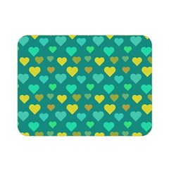 Hearts Seamless Pattern Background Double Sided Flano Blanket (mini)  by Nexatart