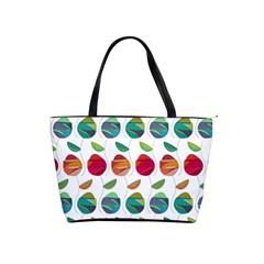Watercolor Floral Roses Pattern Shoulder Handbags