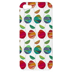 Watercolor Floral Roses Pattern Apple iPhone 5 Hardshell Case