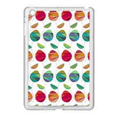 Watercolor Floral Roses Pattern Apple Ipad Mini Case (white)