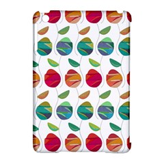 Watercolor Floral Roses Pattern Apple iPad Mini Hardshell Case (Compatible with Smart Cover)