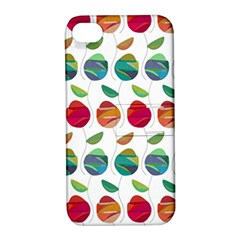 Watercolor Floral Roses Pattern Apple Iphone 4/4s Hardshell Case With Stand by Nexatart