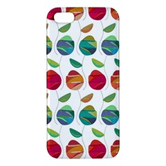 Watercolor Floral Roses Pattern Apple iPhone 5 Premium Hardshell Case