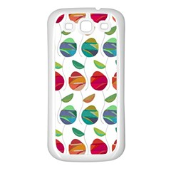 Watercolor Floral Roses Pattern Samsung Galaxy S3 Back Case (White)