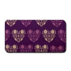 Purple Hearts Seamless Pattern Medium Bar Mats by Nexatart