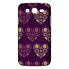 Purple Hearts Seamless Pattern Samsung Galaxy Mega 5 8 I9152 Hardshell Case  by Nexatart