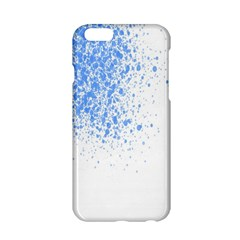 Blue Paint Splats Apple Iphone 6/6s Hardshell Case