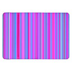 Blue And Pink Stripes Samsung Galaxy Tab 8 9  P7300 Flip Case