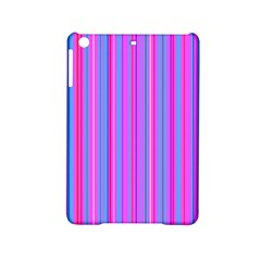 Blue And Pink Stripes Ipad Mini 2 Hardshell Cases by Nexatart