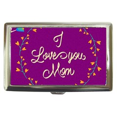Happy Mothers Day Celebration I Love You Mom Cigarette Money Cases