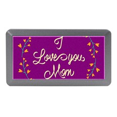 Happy Mothers Day Celebration I Love You Mom Memory Card Reader (mini)