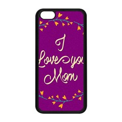 Happy Mothers Day Celebration I Love You Mom Apple Iphone 5c Seamless Case (black)