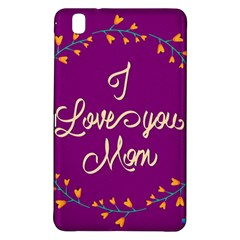 Happy Mothers Day Celebration I Love You Mom Samsung Galaxy Tab Pro 8 4 Hardshell Case
