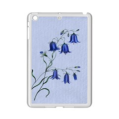 Floral Blue Bluebell Flowers Watercolor Painting Ipad Mini 2 Enamel Coated Cases by Nexatart