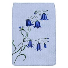Floral Blue Bluebell Flowers Watercolor Painting Flap Covers (s)  by Nexatart