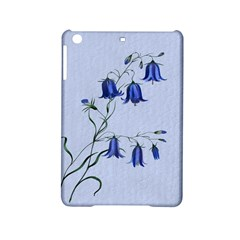 Floral Blue Bluebell Flowers Watercolor Painting Ipad Mini 2 Hardshell Cases