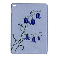 Floral Blue Bluebell Flowers Watercolor Painting Ipad Air 2 Hardshell Cases