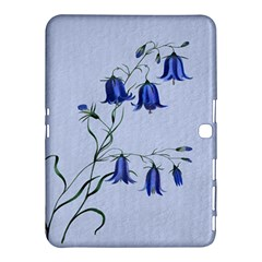 Floral Blue Bluebell Flowers Watercolor Painting Samsung Galaxy Tab 4 (10 1 ) Hardshell Case