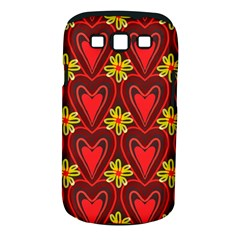 Digitally Created Seamless Love Heart Pattern Samsung Galaxy S Iii Classic Hardshell Case (pc+silicone)