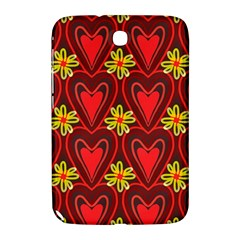 Digitally Created Seamless Love Heart Pattern Samsung Galaxy Note 8 0 N5100 Hardshell Case