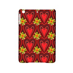 Digitally Created Seamless Love Heart Pattern Ipad Mini 2 Hardshell Cases by Nexatart