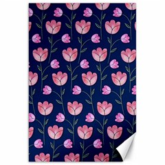 Watercolour Flower Pattern Canvas 20  X 30   by Nexatart