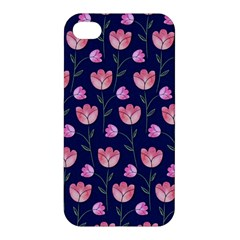 Watercolour Flower Pattern Apple Iphone 4/4s Hardshell Case by Nexatart