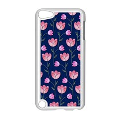 Watercolour Flower Pattern Apple Ipod Touch 5 Case (white) by Nexatart