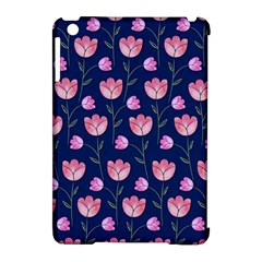 Watercolour Flower Pattern Apple Ipad Mini Hardshell Case (compatible With Smart Cover) by Nexatart