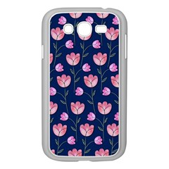 Watercolour Flower Pattern Samsung Galaxy Grand Duos I9082 Case (white)