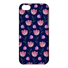 Watercolour Flower Pattern Apple Iphone 5c Hardshell Case by Nexatart