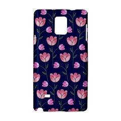 Watercolour Flower Pattern Samsung Galaxy Note 4 Hardshell Case