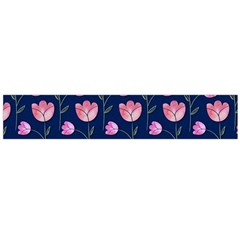 Watercolour Flower Pattern Flano Scarf (large) by Nexatart