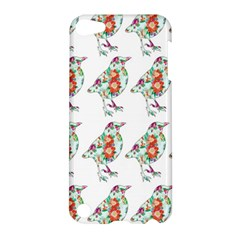 Floral Birds Wallpaper Pattern On White Background Apple Ipod Touch 5 Hardshell Case