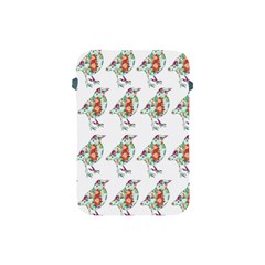 Floral Birds Wallpaper Pattern On White Background Apple Ipad Mini Protective Soft Cases