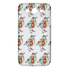 Floral Birds Wallpaper Pattern On White Background Samsung Galaxy Mega 5 8 I9152 Hardshell Case  by Nexatart