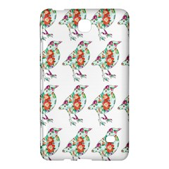 Floral Birds Wallpaper Pattern On White Background Samsung Galaxy Tab 4 (8 ) Hardshell Case  by Nexatart