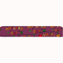 Happy Mothers Day Text Tiling Pattern Small Bar Mats