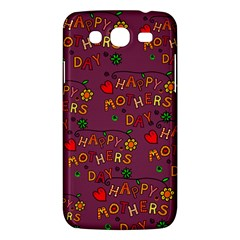 Happy Mothers Day Text Tiling Pattern Samsung Galaxy Mega 5 8 I9152 Hardshell Case  by Nexatart
