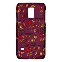 Happy Mothers Day Text Tiling Pattern Galaxy S5 Mini by Nexatart