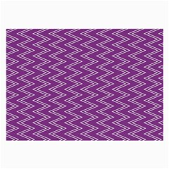 Purple Zig Zag Pattern Background Wallpaper Large Glasses Cloth by Nexatart