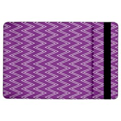Purple Zig Zag Pattern Background Wallpaper Ipad Air 2 Flip