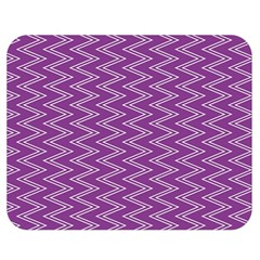 Purple Zig Zag Pattern Background Wallpaper Double Sided Flano Blanket (medium)  by Nexatart