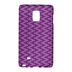 Purple Zig Zag Pattern Background Wallpaper Galaxy Note Edge