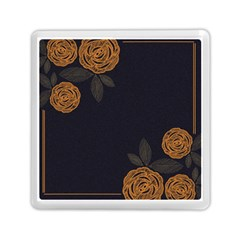 Floral Roses Seamless Pattern Vector Background Memory Card Reader (square)  by Nexatart
