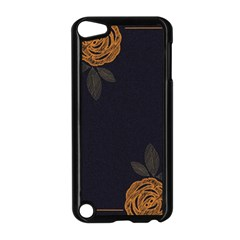 Floral Roses Seamless Pattern Vector Background Apple Ipod Touch 5 Case (black) by Nexatart